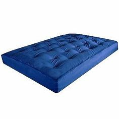 Medium image of sleep master futon mattress by sleep master   134 99  padded cover with 2 layers of