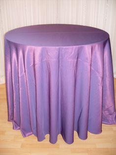 Purple Faux Silk