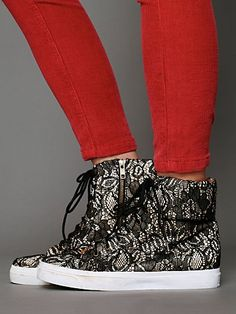 Brea Lace Sneaker @ Free People