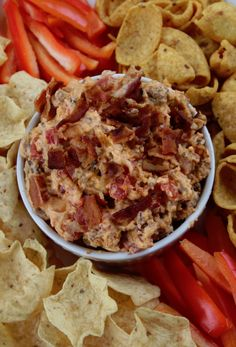 Crock Pot Bacon Cheeseburger Dip Perfect for football parties and holiday parties