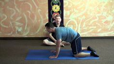 Yoga Exercises For Hip Dysplasia.  *** Dr. Paul Jerard, E-RYT 500 speaks to you about several postures to help relieve pain caused by Hip Dysplasia. Demonstrations given by Yong Yang. Please note that you should consult with your doctor before practicing any exercise.  Yoga Exercises for Hip Dysplasia
