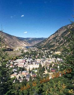 "Georgetown, Colorado - What a fun place to come ""DOWN"" onto!"
