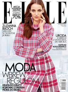 Zuzanna Bijoch - Elle Magazine Cover [Poland] (October 2013)