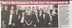 Press photos from awards night