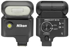 It seems a DSLR camera is less than maximum if it can not use an external flash. That is why, Nikon has introduced an external flash for Nikon 1 V1, the Speedlight SB-N5.    Different from other external flash in general, Nikon SB-N5 has a very small body and light weight. With dimensions of 50 × 70.5 × 40.5 mm and weighs 70 grams, this flash is very easy to be carry around.