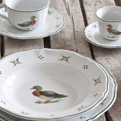 Servizio piatti stile #country in porcellana // Set of plates in county-style by @Stile Masters ITALIA via it.dawanda.com