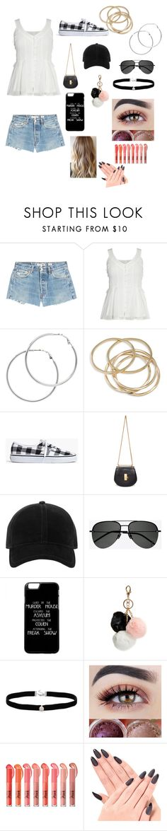 """""""Untitled #84"""" by crystal-fullbuster ❤ liked on Polyvore featuring beauty, RE/DONE, Melissa Odabash, ABS by Allen Schwartz, Madewell, Chloé, rag & bone, Yves Saint Laurent, GUESS and Amanda Rose Collection"""