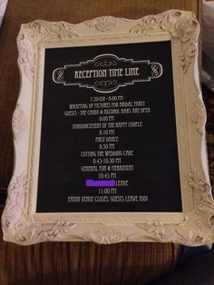 Wedding Signs/Frames - Imgur