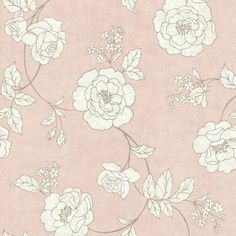 Features:  -Unpasted non-woven.  -Straight match.  -Classic wall covering.  -New flair to the traditional rose trail.  -Strippable / washable.  -Serene Collection.  Product Type: -Roll.  Style (Old):