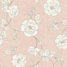 Brewster Home Fashions Serene Rose Wallpaper | Wayfair