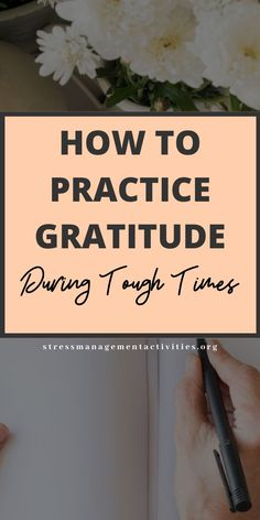 How to practice gratitude daily even when times are tough. Stress Relief Essential Oils, Stress Relief Gifts, Stress Relief Quotes, Best Stress Relief, Coping With Stress, Dealing With Stress, How To Relieve Stress, What Is Stress