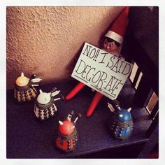 Decorate! Decorate! #DoctorWho