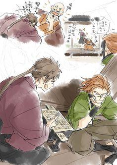 【版権】戦国BSR~らくがき詰め~ [19] Sarutobi Sasuke, Sengoku Basara, pixiv, Yukimura, Shingen