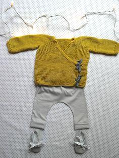 Tenue baby boy par Ernest est céleste