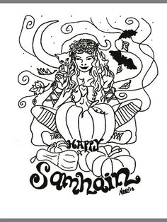 imbolc coloring page see more samhain