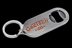 Gretsch Logo Wall Mount Chrome Beer Bottle Opener for Bar