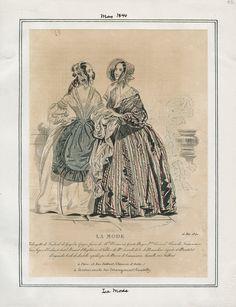 La Mode May 1840 LAPL