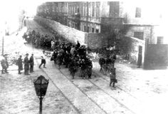 Warsaw, Poland, Deportation of Jews.