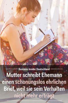 Eine Mutter schreibt ihrem Ehemann einen schonungslos ehrlichen Brief, weil sie sein Verhalten nicht mehr erträgt: Artikel: BI Deutschland Foto: Shutterstock/BI