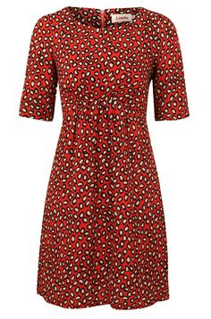 Louche Lizzy Leopard Print Dress