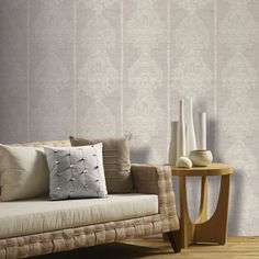 Shop for Arthouse Wallpaper Silk Road Chalk Grey at wilko - where we offer a range of home and leisure goods at great prices. Feature Wallpaper, Damask Wallpaper, Home Wallpaper, Designer Wallpaper, Pattern Wallpaper, Inspirational Wallpapers, High Quality Wallpapers, Living Room Bedroom, Simple Designs