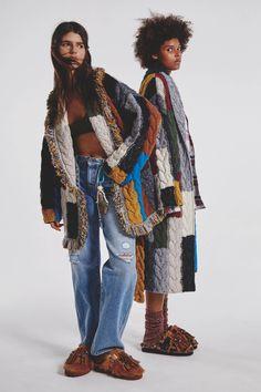 Fall 2021 Fashion Trend: Patchwork [PHOTOS] – WWD Knitwear Fashion, Knit Fashion, Fashion News, High Fashion, Winter Fashion, Fashion Show, Womens Fashion, Fashion Trends, Milan Fashion