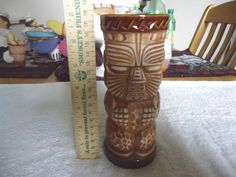 """Vintage Tiki Mug / Cup """" AWESOME BEAUTIFUL COLLECTABLE PIECE """" #vintage #collectibles #ceramics #home #kitchen"""