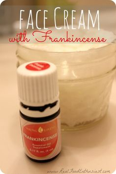 Face Cream with Frankincense - A Day in the Life of an Oiler Series