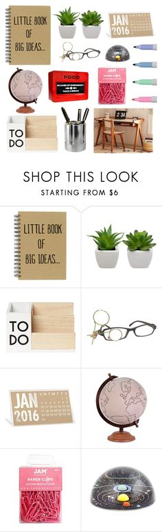 """Big Ideas"" by therealmav ❤ liked on Polyvore featuring interior, interiors, interior design, home, home decor, interior decorating, Jamie Young and Dot & Bo"