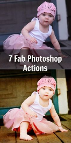 More Free Actions for Photohop Elements - Blissfully Domestic