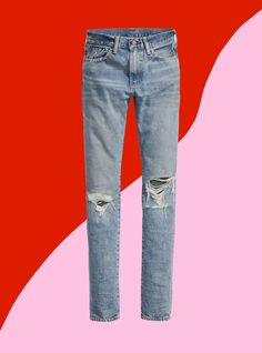 These Are Literally The MOST Flattering Pair Of Jeans I've Worn #refinery29  http://www.refinery29.com/2016/07/117329/levis-new-jeans-505c-vintage-inspired