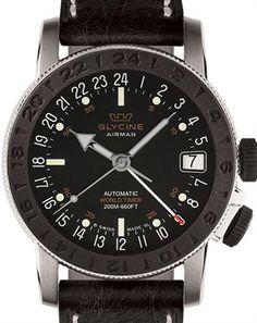 Airman 17 Sphair 3927-196-lb9 - Glycine Airman wrist watch  Glycine Watches 3927-196-LB9