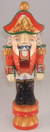 Traditional Russian Hand Carved Wood Christmas Nutcracker New Holiday Decoration | eBay