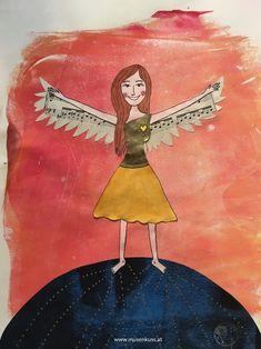 Ich lebe meine Strahlkraft - personalisiertes Kraftbild zu deinem Wunschthema - MusenKuss Muse, Princess Zelda, Fictional Characters, Art, Spot Lights, Life, Pictures, Art Background, Kunst