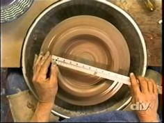 How to Throw and Decorate a Platter on the Wheel - From DIY's, 'Throwing Clay'