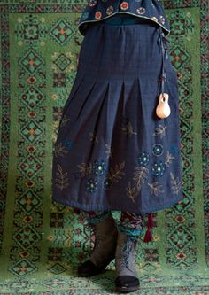 """Irma"" eco-cotton skirt – Skirts & dresses – GUDRUN SJÖDÉN – Webshop, mail order and boutiques 