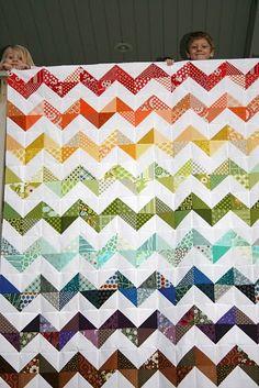 Great scrap quilt