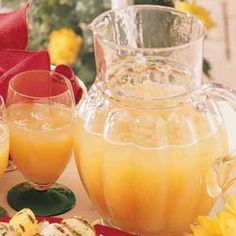Get ready for spring with this great cooler drink.
