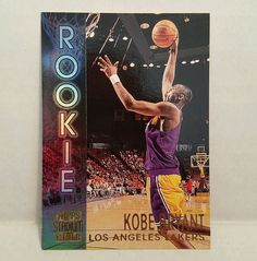 Kobe Bryant Basketball Card 1996-97 Topps Stadium Club R9 Rookie LA Lakers Rare #LosAngelesLakers #forsale #kobebryant #basketballcard #lalakers #NBA #Ebay #rookiecard #topps #stadiumclub #sportscard #cardcollector #lakers #vintage #vintagecard #rare #koberookiecard http://ow.ly/C5Pb307Mq8O