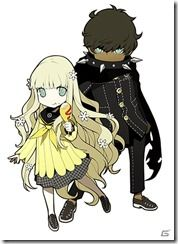 View an image titled 'Rei & Zen Art' in our Persona Q: Shadow of the Labyrinth art gallery featuring official character designs, concept art, and promo pictures. Game Character Design, Character Design Inspiration, Character Concept, Character Art, Concept Art, Persona Q, Shin Megami Tensei Persona, Zen Art, Cute Characters