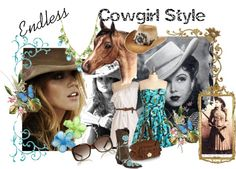 Endless Cowgirl Style, created by timekeepermgc on Polyvore