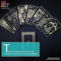 What will your #tarot say? Find out this #November at The Great Mela because #lifeisamela and #itallhappensinbetween