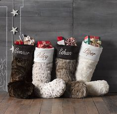 Christmas stockings restoration hardware - Сhristmas day special
