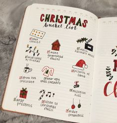 Bullet Journal Gift List, Bullet Journal Christmas, December Bullet Journal, Bullet Journal 2020, Bullet Journal Notebook, Bullet Journal Aesthetic, Bullet Journal Inspo, Bullet Journal Ideas Pages, Book Journal