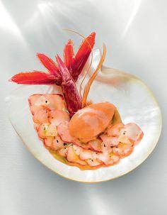 Gamberoni par Arnaud Donckele Chef du restaurant la Vague d'Or . Retrouvez…