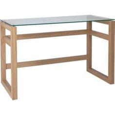 Buy Denbigh Office Desk - Oak Effect at Argos.co.uk - Your Online ...