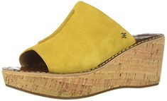 ccbd63afd Limited Supply Sam Edelman Women s Ranger Heeled Sandal Tuscan Yellow Suede  10 M US  shoes
