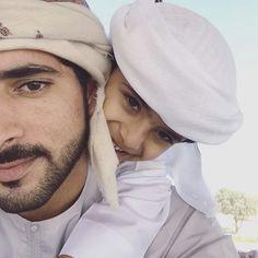 Sheikh Hamdan  with Maj