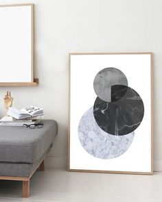 Marble print Abstract art print Minimalist by simplegeometry