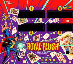 Royal Flush Pinball at Arcade Crusade.